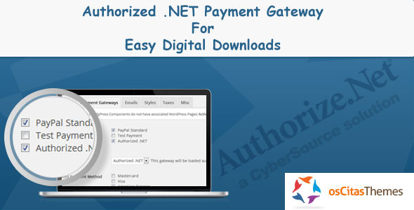 Authorize.net Payment Gateway For EDD