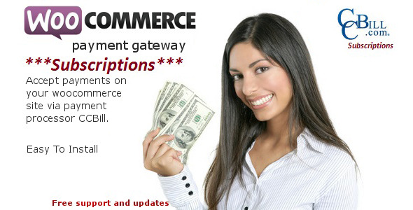 CCBill Payment Gateway - WooCommerce Subscriptions