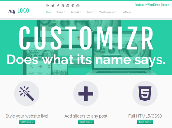 Customizr Free WordPress Theme