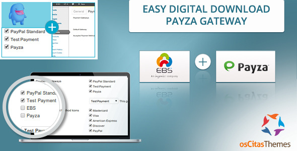 Easy Digital Download Payza & EBS Payment Gateways