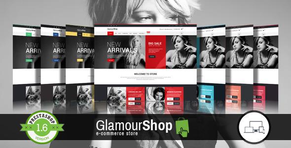 GlamourShop Responsive Prestashop