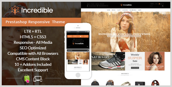 Incredible - Prestashop Responsive Theme