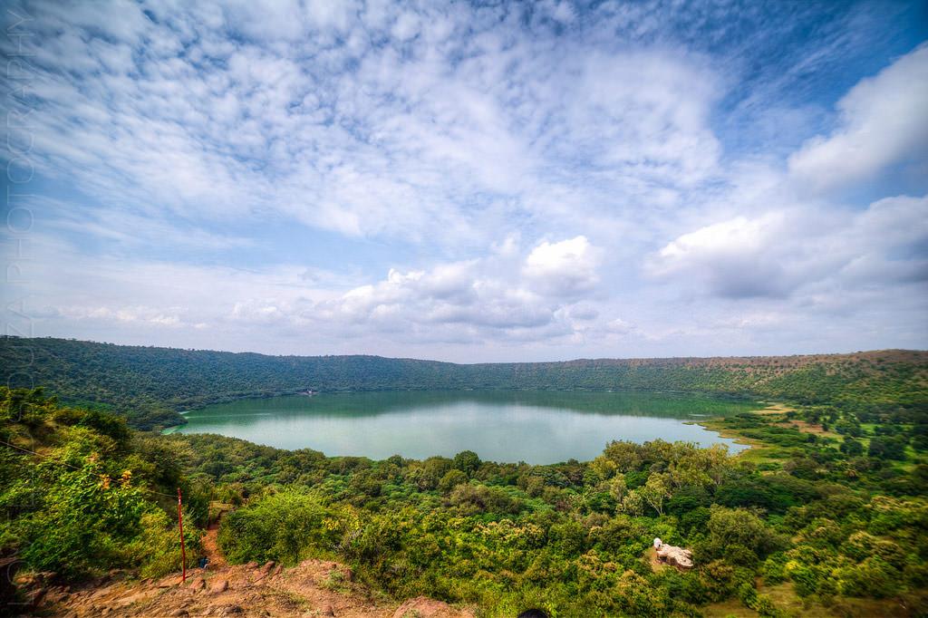 Lonar-crater-lake