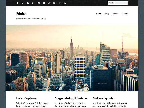 Make WordPress Theme Free