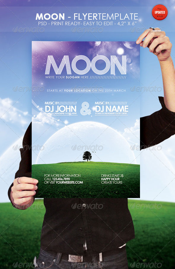 Moon-Flyer-Template