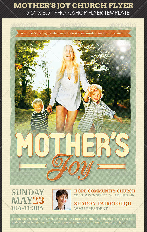 Mother's-Joy-Church-Flyer-Template