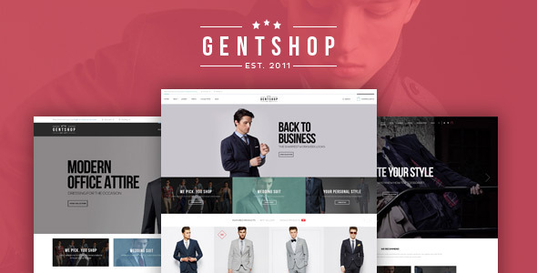Pts GentShop Great Fashion Prestashop Theme