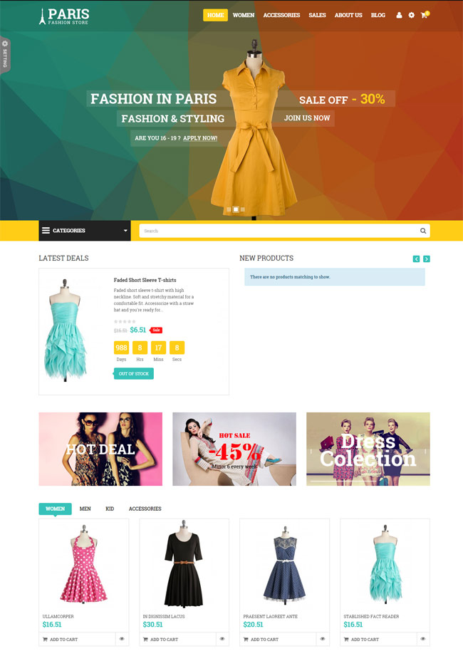 SNS-Paris-Responsive-Fashion-Prestashop-Theme