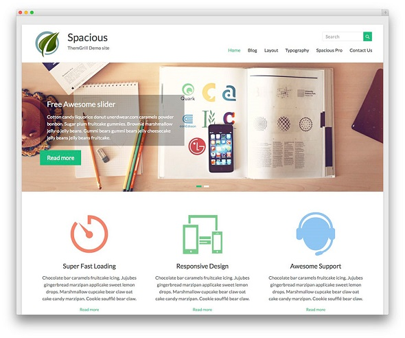 Spacious Multipurpose Responsive WordPress Theme
