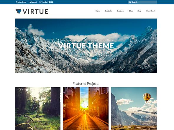 Virtue Extremely WordPress Theme Free