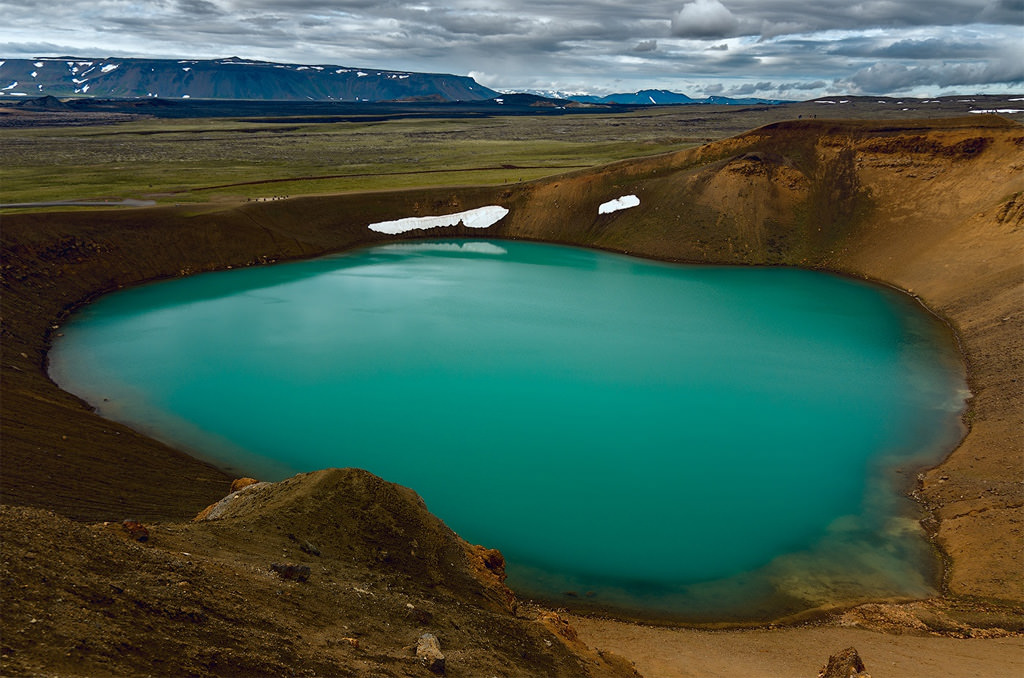Viti Geothermal Lake