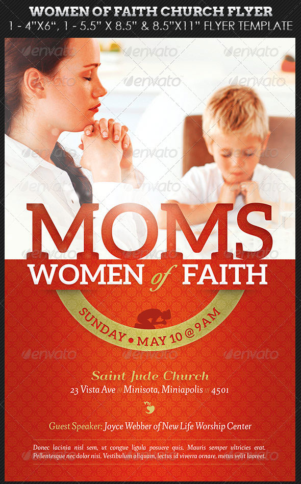Women-of-Faith-Church-Flyer-Photoshop-Template