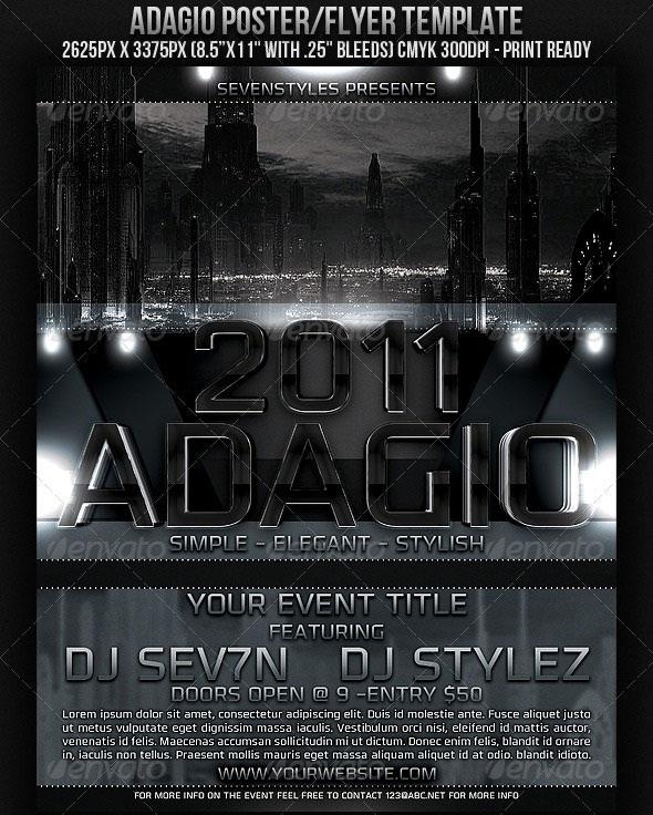 adagio-posterflyer-template