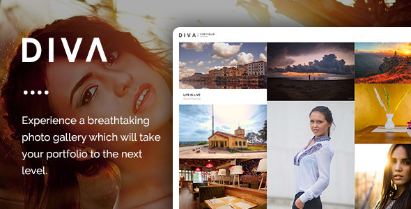 DIVA - Fabulous Photography WP Theme