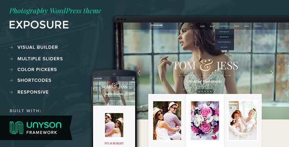 Exposure - Photography WordPress Theme