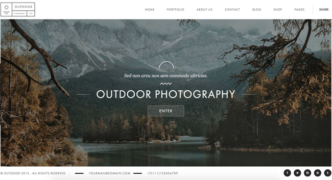 Outdoor-Creative-Photography-Portfolio-Wordpress-Theme