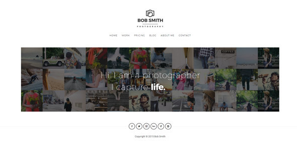 Photographer - A WordPress Theme For Photographers