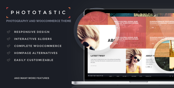 Phototastic - Portfolio Photography Theme