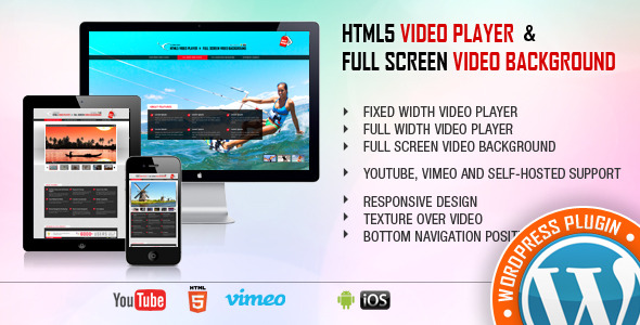 Video Player & FullScreen Video Bgd