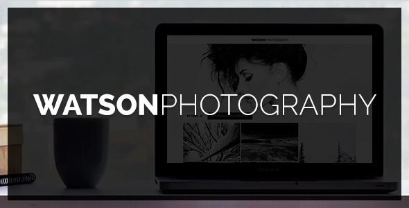 Watson - Photography WordPress Theme