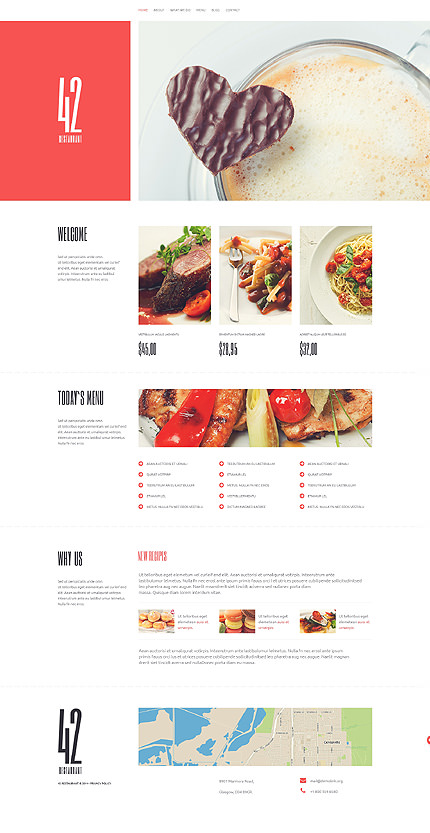 Food Place WordPress Theme