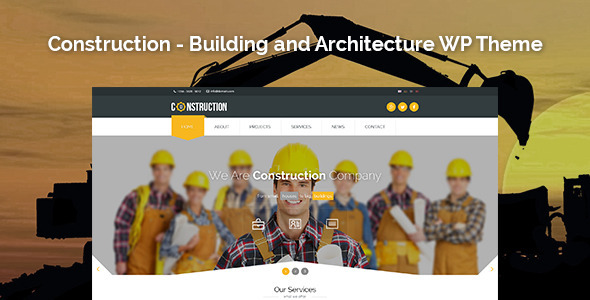 20+ Best Industrial WordPress Themes Responsive