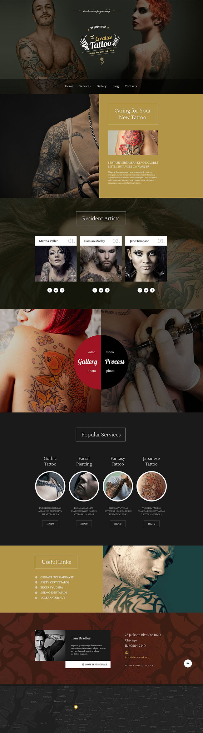 Creative-Tattoo-WordPress-Theme