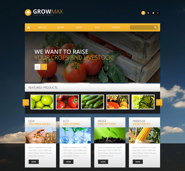 Farm-Industry-WordPress-Theme