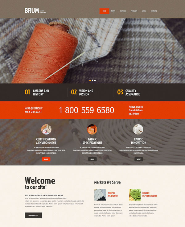 Industrial-Responsive-WordPress-Theme