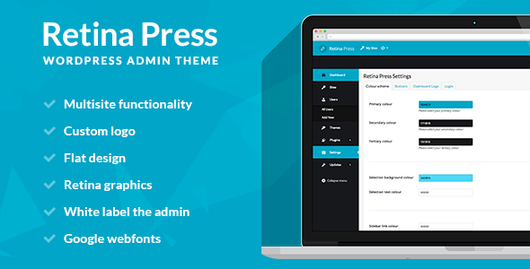 Retina Press - WordPress admin theme