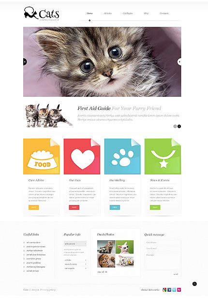WP Theme for Pet Blogs
