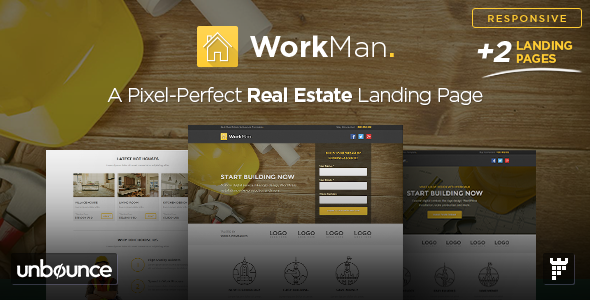 WorkMan - Real Estate and Construction Template