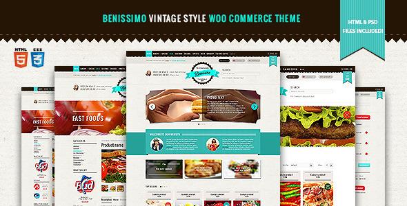 Benissimo - Vintage Style WooCommerce Theme