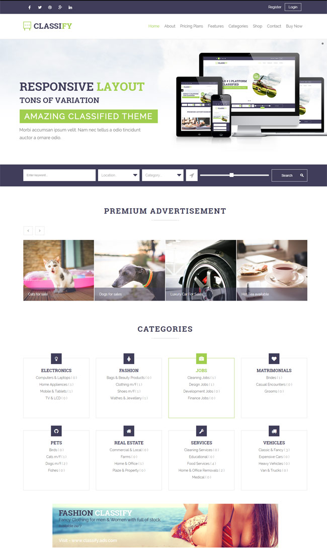Classify-Classified-Ads-WordPress-Theme