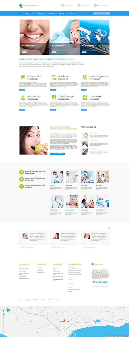 More than Healthy Teeth WordPress Website
