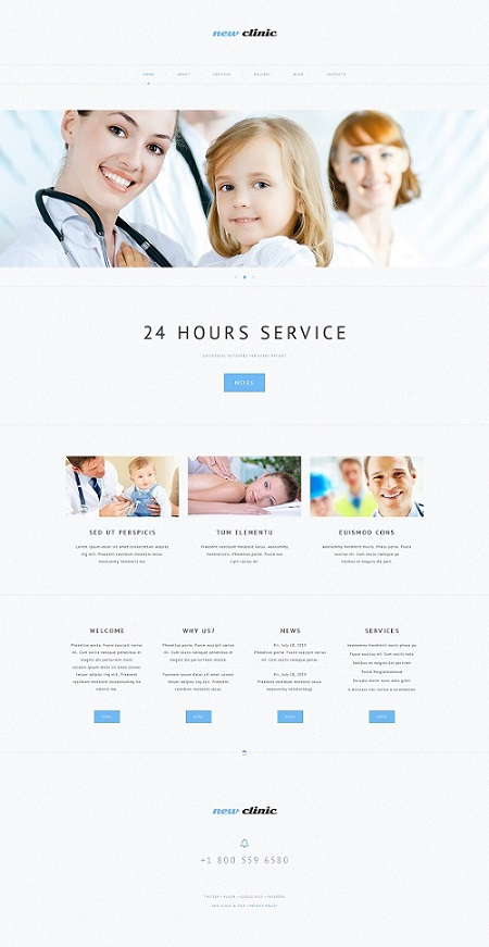 Pure Health Clinic WordPress Site Design