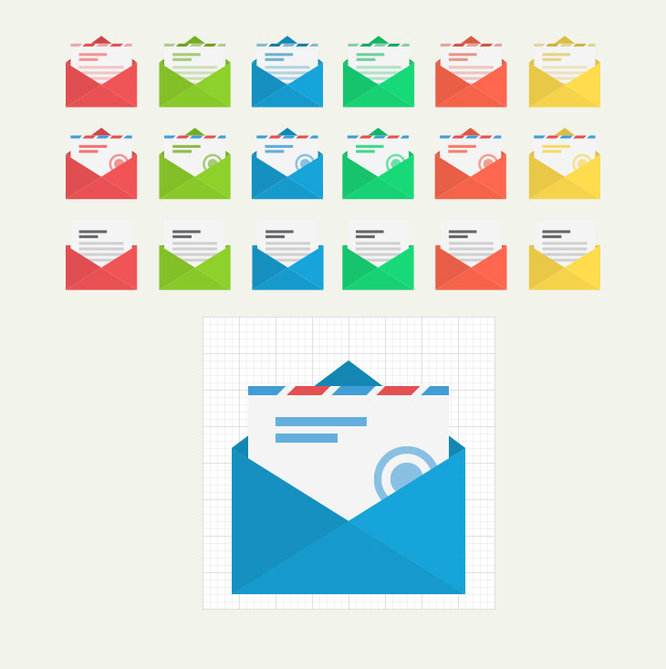 free-vector-flat-mail-icons