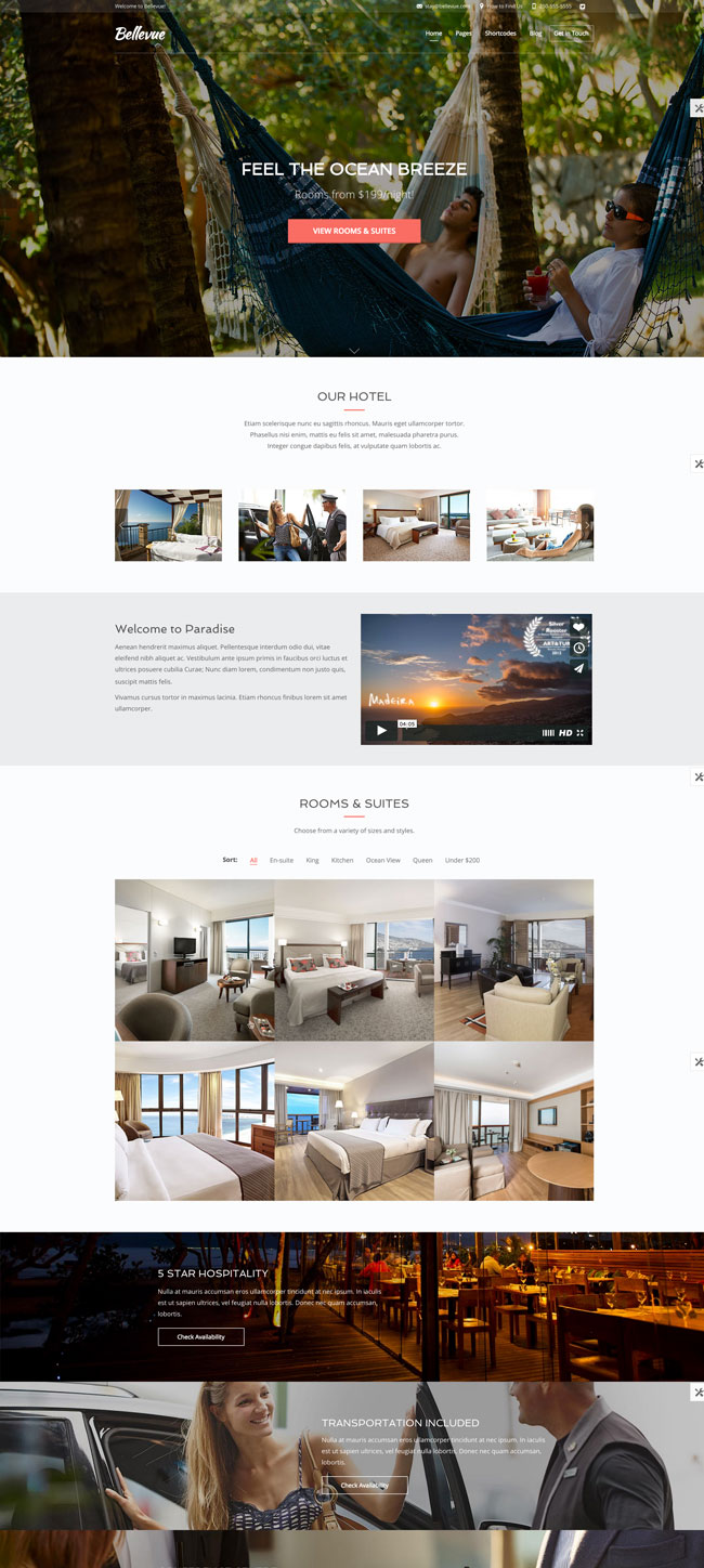 Bellevue-Hotel-Bed-Breakfast-Booking-Theme