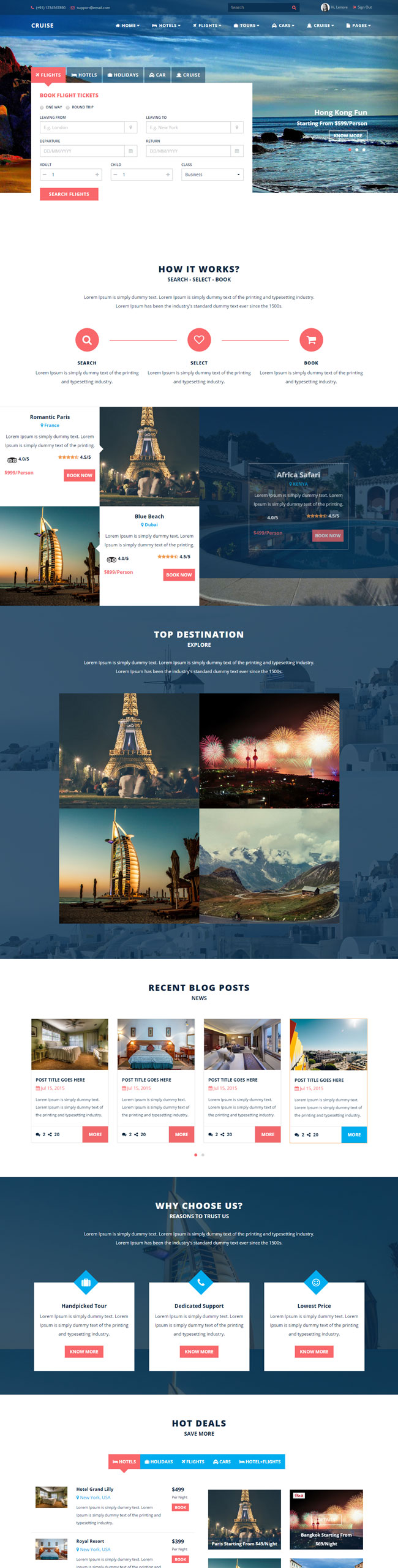 Cruise-Responsive-Travel-Agency-Template