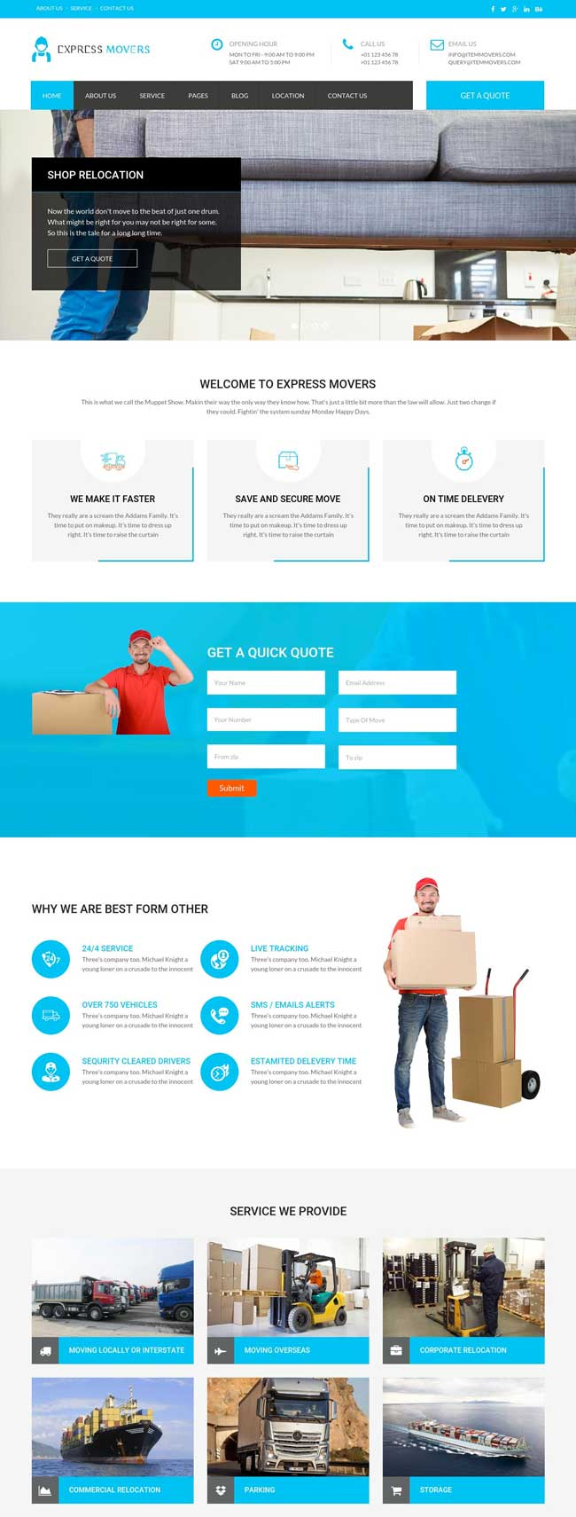 Express-Movers-Moving-Company-WordPress-Theme