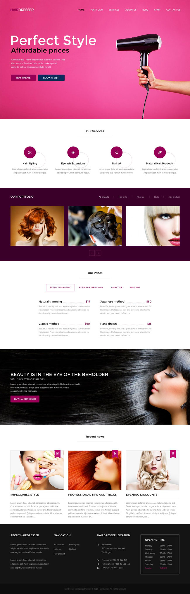 Hairdresser-Hair-Salon-WordPress-theme