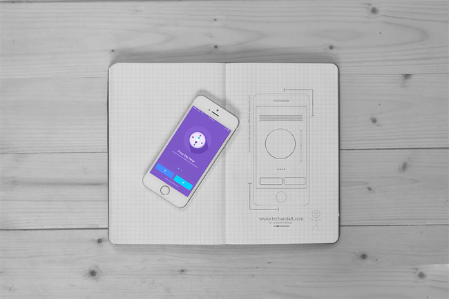 iOS App Showcase PSD Mockups