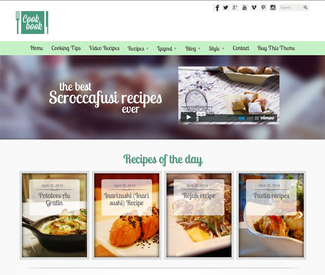 35 best food blog wordpress themes 2016 designmaz best food blog wordpress themes 2015 forumfinder Images