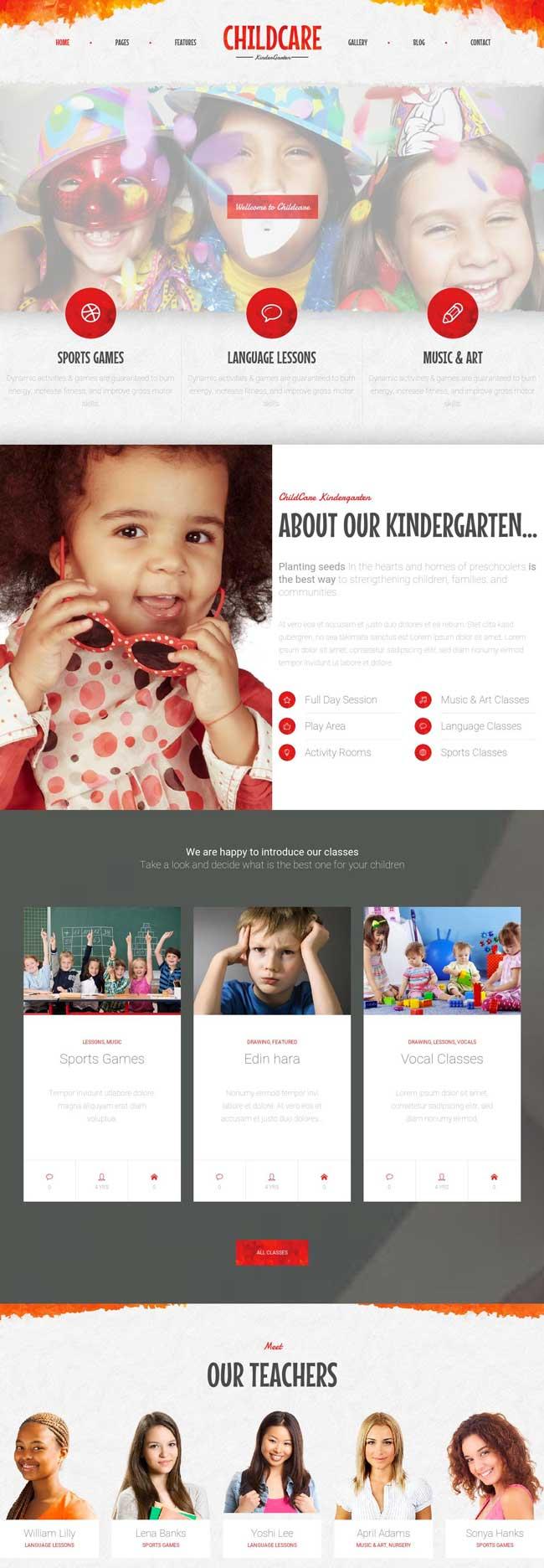 Child-Care-Children-Kindergarten-Wordpress-Theme