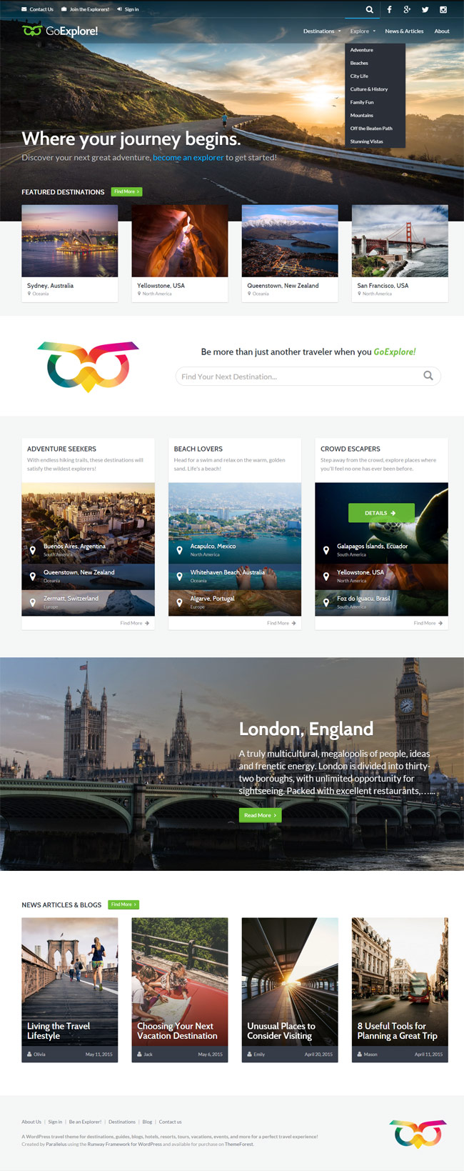 GoExplore-Travel-WordPress-Theme