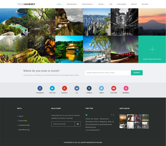Your-JourneyTravel-Blog-Wordpress-Theme