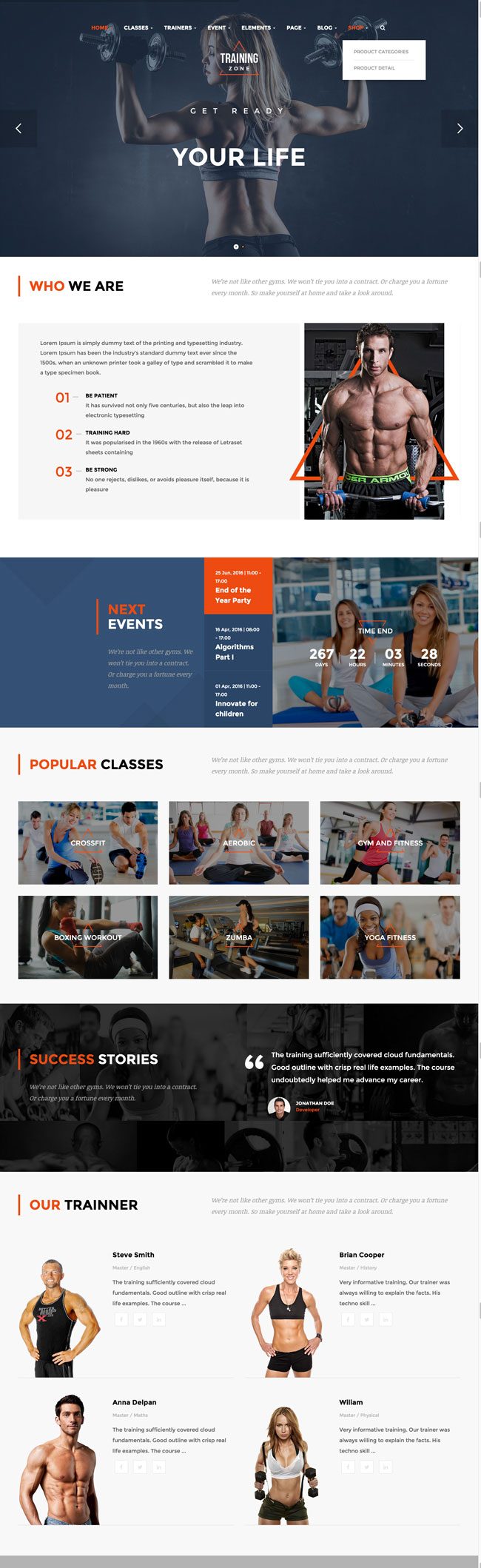 Training-Zone-Gym-Fitness-WordPress-Theme