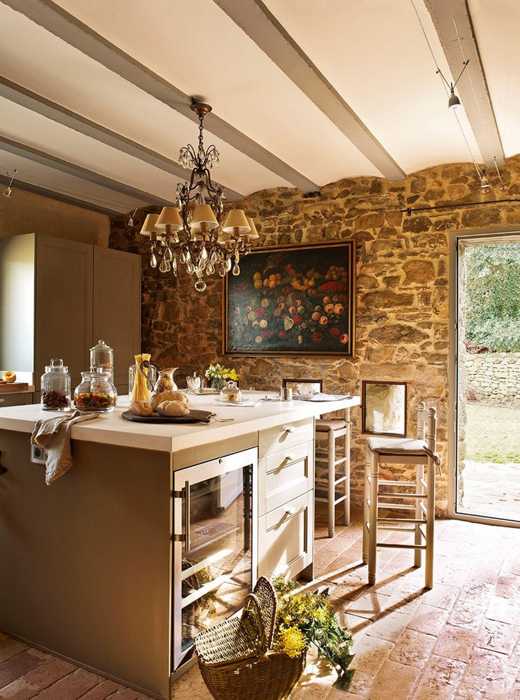 kitchen-stone-wall-interior-design