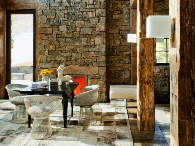 living-room-stone-wall-design