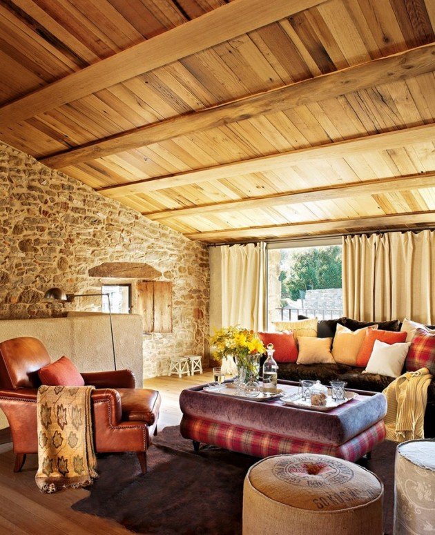 living-room-stone-wall-pictures